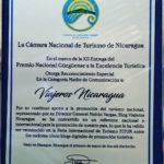 Reconocimiento CANATUR NICARAGUA